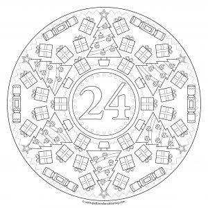 24 Christmas patterns