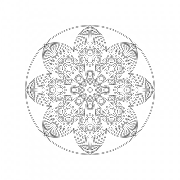 Pinball Spinner pattern