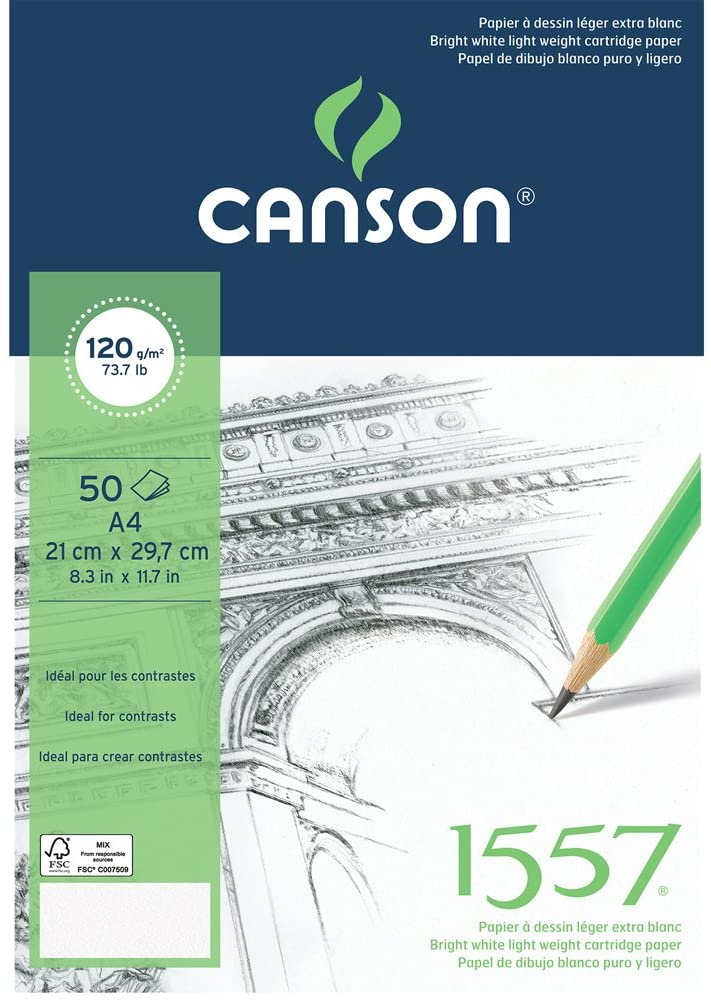 Canson A4 cartridge pad