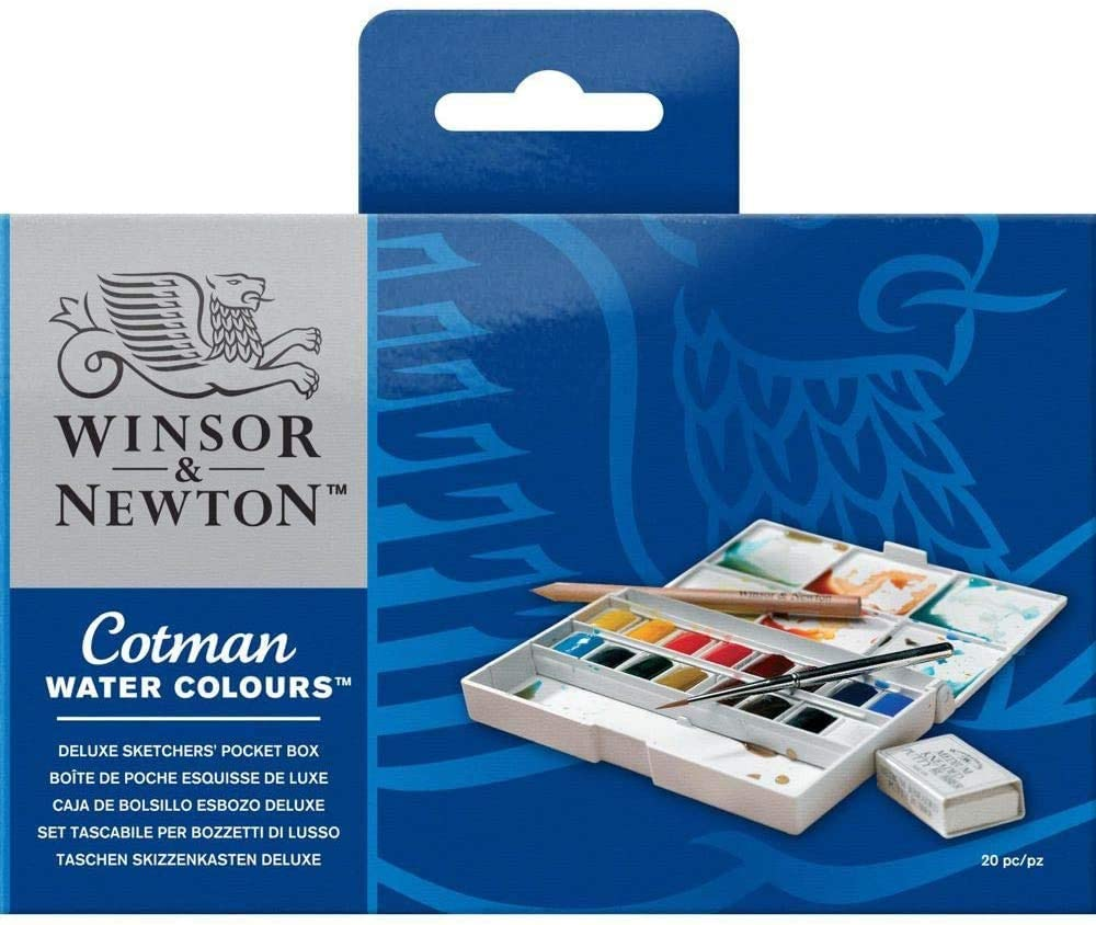 Winsor and Newton Watercolour set